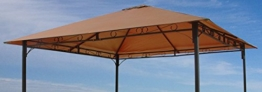 Ersatzdach 3x3m Antikpavillon Taupe