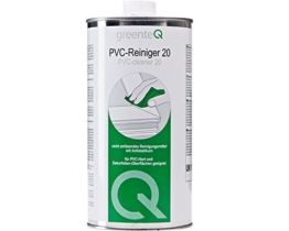 1 Liter greenteQ PVC Reiniger 20 Kunststoffreiniger Fenster Reinigungsmittel -