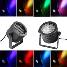 86 LEDs Bühnenlampe DMX Disco Lichteffekt RGB DJ Projektor Strahler Party -