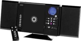 AEG MC 4421 Kompaktanlage (CD/MP3-Player, UKW/MW-Tuner, CD-RW, USB) schwarz -