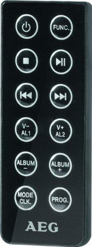 AEG MC 4461 Bluetooth Musik Center schwarz -