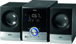 AEG MC 4461 Bluetooth Musik Center schwarz -