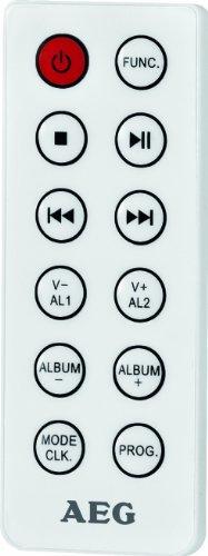 AEG MC 4461 Bluetooth Musik Center weiß -