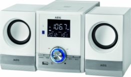 AEG MC 4461 Bluetooth Musik Center weiß -