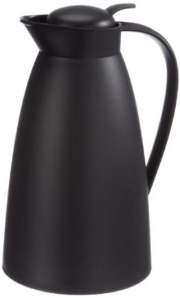 Alfi 825020100 Isolierkanne Eco, Kunststoff (1 Liter), schwarz -