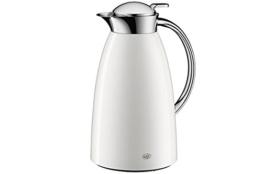 Alfi Gusto Metall 3521211100 Isolierkanne 1 Stück (1 Liter, 14 x 15 x 26 cm) weiß -