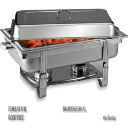 "APS Chafing Dish ""Chef"", 61 x 31cm, Edelstahl -"