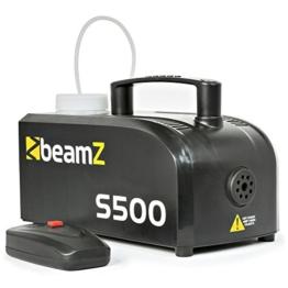 Beamz S500Nebelmaschine, 500W 50m³ + 250ml Flüssigkeit -