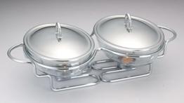 Chafing Dish Speisewärmer Dishes Warmhaltebehälter Wärmebehälter für Haushalt -