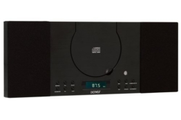 Denver MC-5010 Musik-Center (CD-R/RW, AUX-In, Wandhalterung, Weckerradio) schwarz -