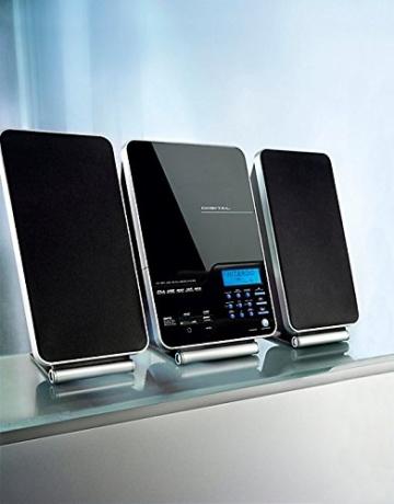 Design-Vertikalanlage Z-922 mit USB Radio SD CD MP3 -