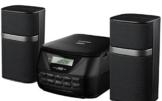 Duronic RCD017 Mikro Hi-Fi Audio System mit CD / Mp3 , CD / USB/ FM Radio/ AUX-In / Verbindung zu MP3-Player, iPhone, iPod, Mobiltelefon möglich -