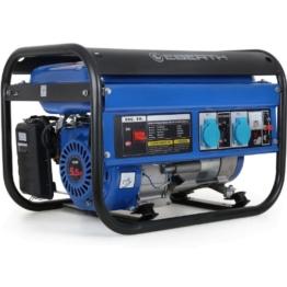 EBERTH 2200 Watt Benzin Stromerzeuger Notstrom Stromaggregat Generator (5,5 PS, Seilzugstart, Ölmangelsicherung, 68 dB (7m), Laufzeit 9-11 Std.) -