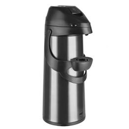Emsa 502486 Pump-Isolierkanne, 1,9 Liter, Edelstahl, Anthrazit, Pronto -