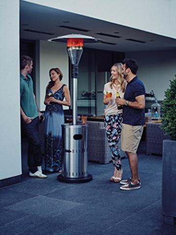 Enders Terrassenheizer Solid Edelstahl, 88 x 88 x 230 cm, silber, 5800 -