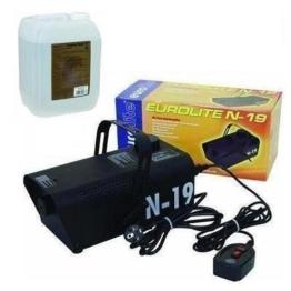Eurolite N-19 Nebelmaschine schwarz + 5L -C- Fluid -