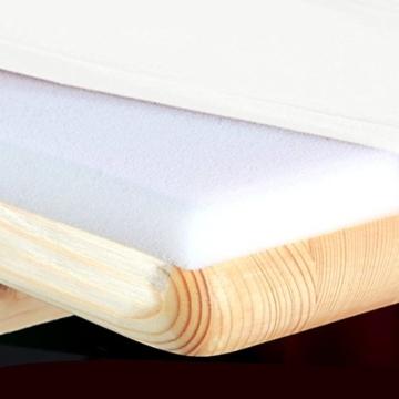 Gräfenstayn Stretch Biertischhusse Leopold 5er Set für Bierzeltgarnitur mit Sitzauflagen -70cm oder 50cm Tischbreite- Bierbankhussen (70 x 220 cm, Weiß) -
