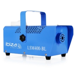Ibiza LSM400-BL Nebelmaschine, Blau -