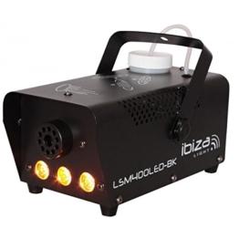 Ibiza LSM400 Nebelmaschine, Schwarz -