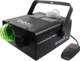 Ibiza LSM500ASTRO Nebelmaschine Jellyball LED-Lichteffekt 500W RGB -