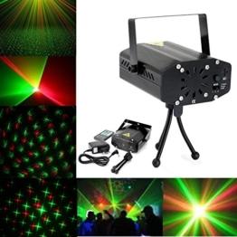 KING DO WAY Lichteffekt Licht Sternenhimmel Projektor LED Stimmungsbeleuchtung licht auto Mini LED für Party Xmas DJ Disco Party Bar Stage KTV Hochzeit Bar Tanzen Lichteffekt projektor + fernbedienung Schwarz -