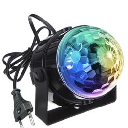 KINGSO Mini LED Lichteffekte Disco Licht Party Licht Bühnenbeleuchtung 5W RGB Sprachaktiviertes Kristall Magic Ball Bühnenlicht für Show Disco Ballsaal KTV Stab Stadium Club Party -