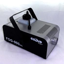 Nebelmaschine FOG 900 DMX - Dauernebel - nur 5 Sek. Heizphase - Disco Nebel -