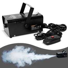 Nebelmaschine mit Fernbedienung für Party - Nebel Rauch Smoke Fog Effekt -