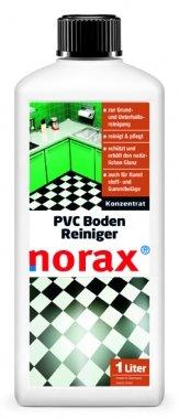 norax PVC Boden Reiniger 1 l - Kraftvolles und schützendes Konzentrat zur Grundreinigung, PVC Reinigung und PVC Pflege in einem Schritt -