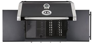 Outdoorchef CANBERRA 4G schwarz BBQ Gasgrill Grillstation 4 Brenner 18.131.27 -