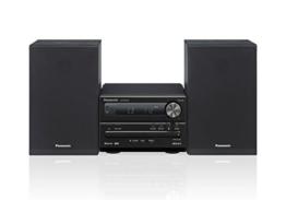 Panasonic Micro HiFi System SC-PM250EG-K (20 Watt RMS, CD, Radio UKW, Bluetooth) schwarz -