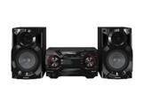 Panasonic SC-AKX200E-K Kompaktes CD Musiksystem (Bluetooth, Radio Tuner (FM/AM), 2x USB, AUX-IN, DJ Jukebox, 400 Watt RMS) schwarz -