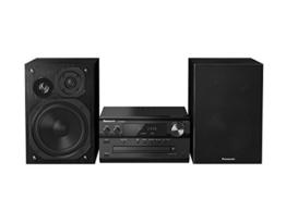 Panasonic SC-PMX74EG-K Micro HiFi System (120 Watt RMS, CD, Radio UKW/DAB+, Bluetooth, NFC) schwarz -