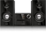 Philips BTM2180 Kompaktanlage mit Bluetooth (70W, Bassreflex, USB, UKW, CD-MP3) schwarz -