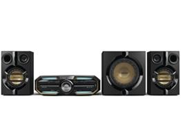 Philips FX55 HiFi Minisystem mit Bluetooth NFC (720 Watt, MAX Sound, LED Beleuchtung, USB, CD-MP3) schwarz -