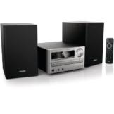 Philips MCM2000/12 Kompaktanlage (CD/MP3/WMA-Player, 20 Watt, USB) silber -