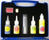Reparaturset für Camping, Industrieklebstoff, Textilkleber, Knetmetall, Reiniger, Füllstoff, Primer für PE, PP und Silikon -