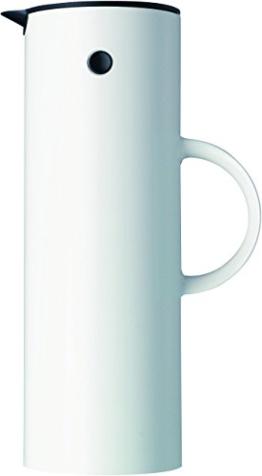 Stelton 960 Isolierkanne weiss 1 l -