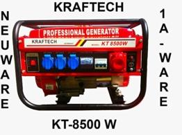 Stromgenerator 6000W Stromerzeuger, Notstromaggregat, Aggregat, Stromaggregat 6,5 PS / 4-Takt / 12, 220, 380V / Luft gekühlt -