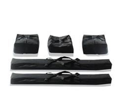 Taschenset -Taschen Zelt- Gestängetaschen 3 m für ECONOMY / PREMIUM Zelte für Pavillon Partyzelt - 5 Stück Tragetaschen Transporttaschen -