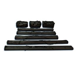 Taschenset Zelttaschen 4 m für PROFESSIONAL Zelte für Pavillon Partyzelt - 8 Stück Tragetaschen Transporttaschen, zur sicheren Aufbewahrung, aus robustem Oxford Material 480g -