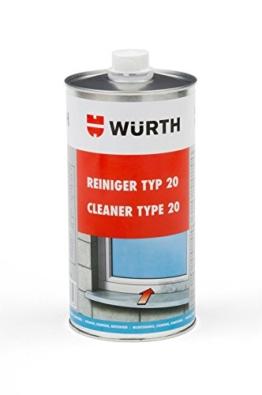 Würth Pvc Reiniger Kunstoff Fenster Reiniger Kunststoffreiniger Typ 20 1 Liter -