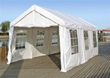 Dachplane / Zeltdach / Ersatzdach für Partyzelt 3x6 PVC weiss -