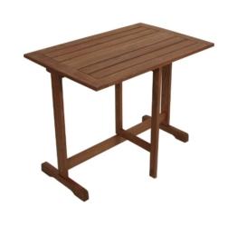 Klappentisch Porto 90x60cm aus Eukalyptus Holz, FSC®-zertifiziert -