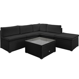 Poly Rattan Lounge Set Sitzgruppe Sitzgarnitur Gartenmöbel Gartenset Gartenliege -