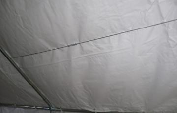 Profi-Zelt Palma 3x4 Meter in PVC-Ausführung, Gestänge 38mm -