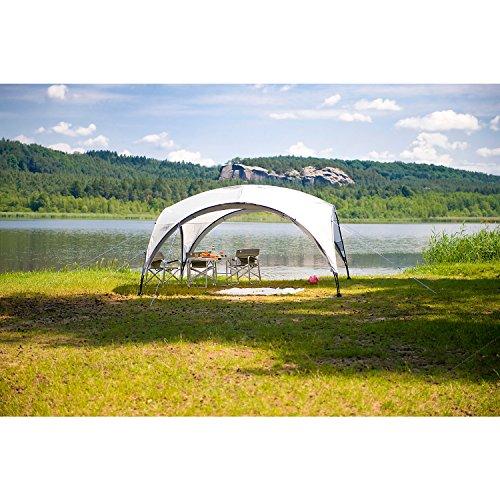 Coleman Event Shelter/Pavillon 3 x 3 Meter, grau-grün, einsetzbar als Sonnenschutz oder Partyzelt -